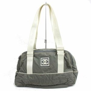 CHANEL Bags - Chanel Shoulder Bag Olive Nylon